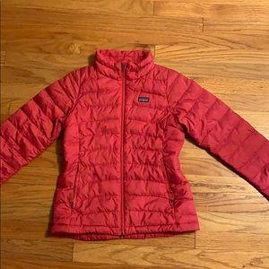 Girls Patagonia Down Sweater Jacket